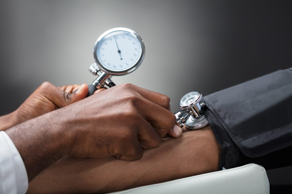 Chronic Condition Management with Blood Pressure Checks