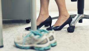 Workplace Wellness: Business-to-Workout Shoes